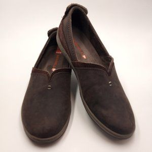 Merrell Mode Performance  Slip On Brown Shoes 7.5